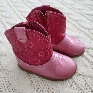OshKosh Pink Cowgirl Boots